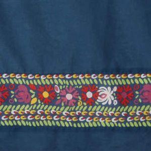 ANTHROPOLOGIE 100% cotton Wildfield Bedskirt/NEW
